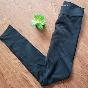 Abercrombie and Fitch black leggings. Sz XS